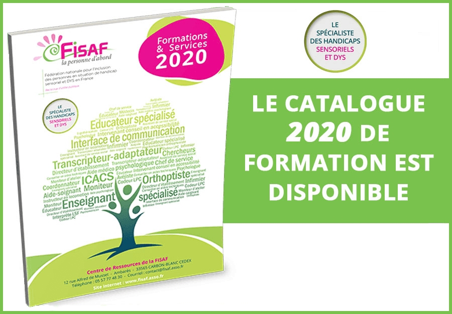 Le Catalogue de formation FISAF 2020 est disponible